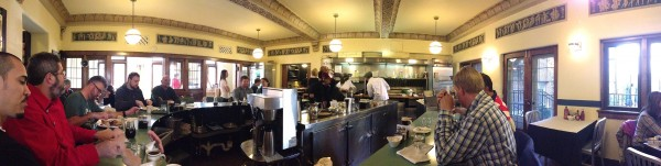 Cafe at the Plaza, Milwaukee, Panoramic