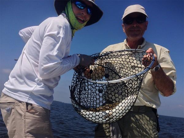2-trout-1-net